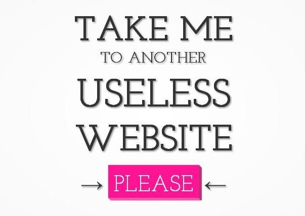 Por que só um site lindo e novo em folha não basta